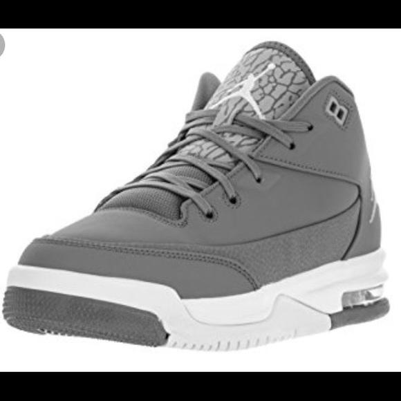 Brand New Grey Nike Air Jordan's  <div class=